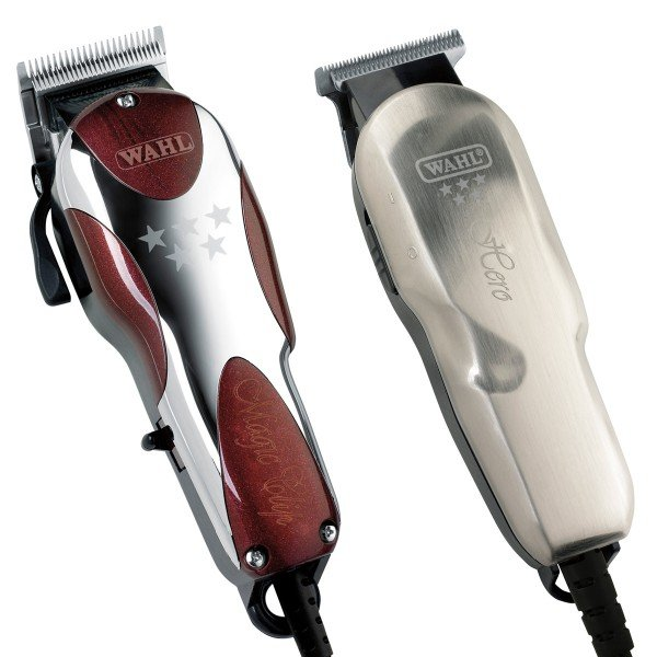 869808985 Kit Máquina de Corte Magic Clip + Acabamento Hero Wahl 220V