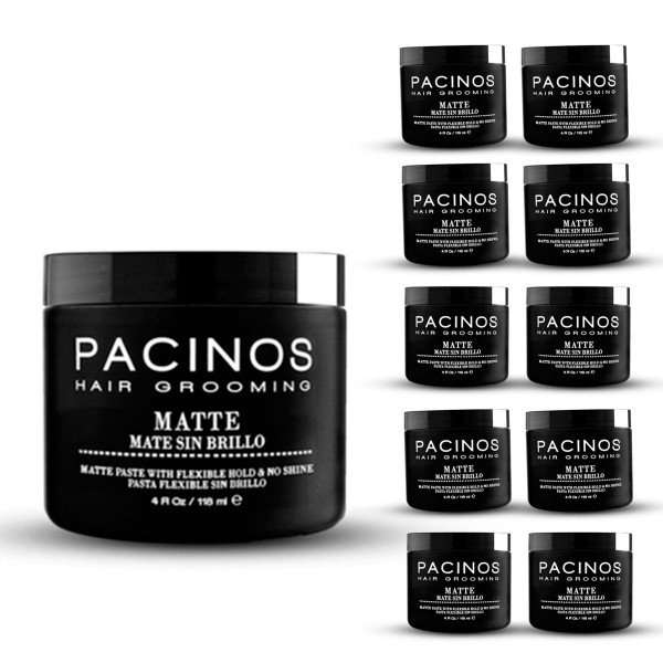 kit 10 pomada mate pacinos