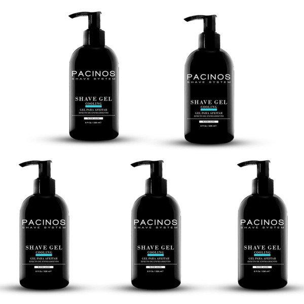 5 shaving gel pacinos
