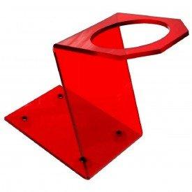 suporte vermelho