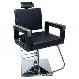 cadeira square preta