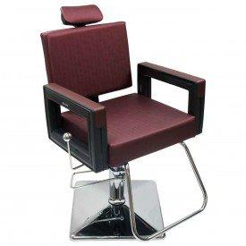 cadeira square vinho
