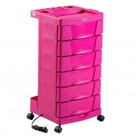 carrinho care rosa