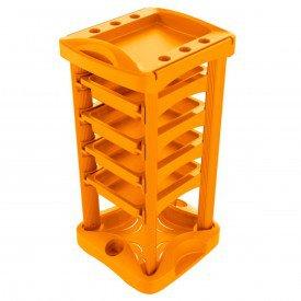 auxiliar carrinho laranja