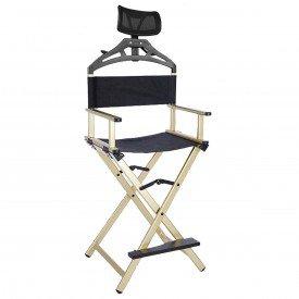 cadeira dourada make