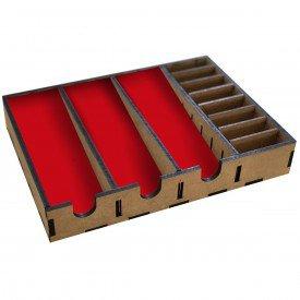 suporte 6 maquinas vermelha