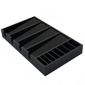 caixa 4 maquinas preto