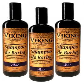 shampoo de barba mar 200 3uni