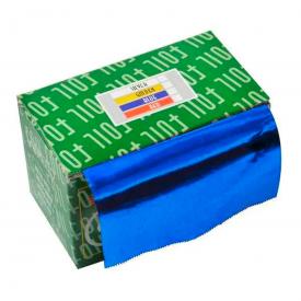 papel aluminuio azul