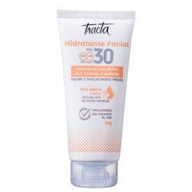 hidratante facial pele normal a seca tracta