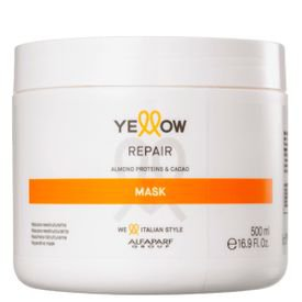 mascara repair yellow