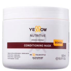 nutritive mask yellow