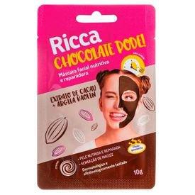 mascara facial chocolate pode