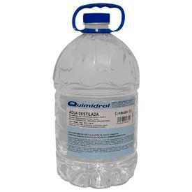 agua destilada 5l