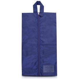 bolsa porta sapato azul