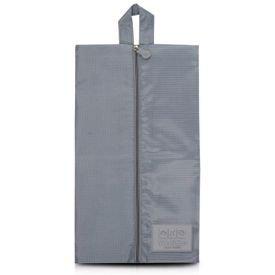 bolsa porta sapato cinza