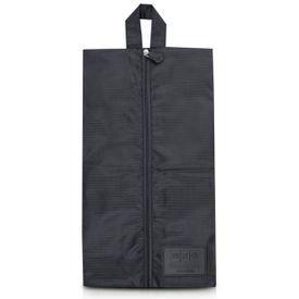 bolsa porta sapato preto