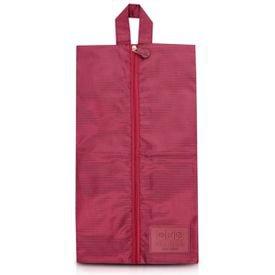 bolsa porta sapato vinho