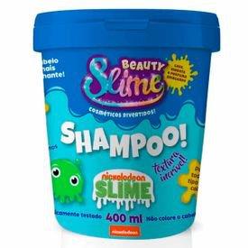 slime shampoo 400ml azul